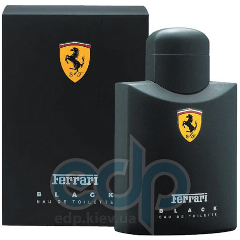 Ferrari Black Man - туалетная вода - 75 ml
