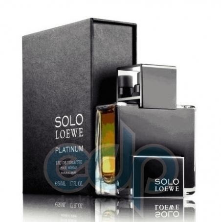 Loewe Solo Platinum - туалетная вода - 100 ml