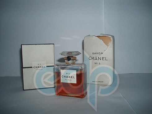 Chanel №5 vintage For Women - Набор (одеколон 60 + мыло)