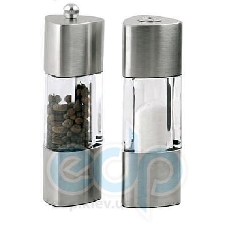 Maestro - Набор для соли и перца металл-акрил - 2 предмета (арт. МР1622)