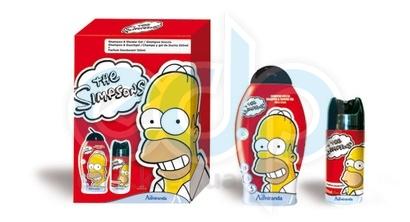 Admiranda Simpsons - Набор подарочный (Шампунь-гель для душа Simpsons 250 ml + Дезодорант-спрей для тела парфюмированный Simpsons 150 ml) (арт. AM 73135)