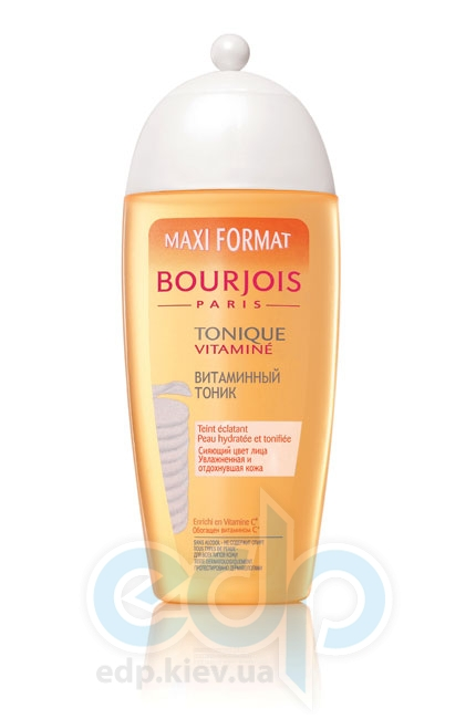 Тоник для лица витаминный для всех типов кожи Bourjois - Tonique Vitamine - 250 ml (арт. 328021)