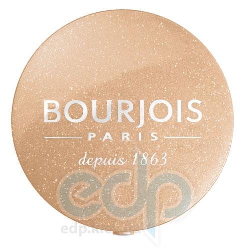 Тени для век 1-цветные компактные Bourjois - Depuis 1863 №10 Бежевый блеск - 1.5 g