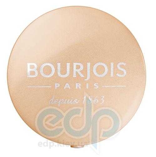Тени для век 1-цветные компактные Bourjois - Depuis 1863 №08 Мерцающий беж - 1.5 g