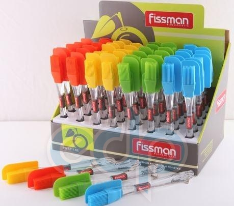Fissman - Набор силиконовая лопатка и кисточка (арт. ФС7.017)