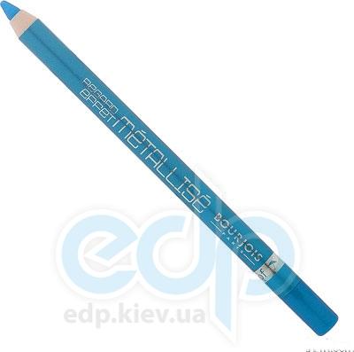 Карандаш для век с частицами перламутра Bourjois - Metallise №54 Голубой - 1.2 g