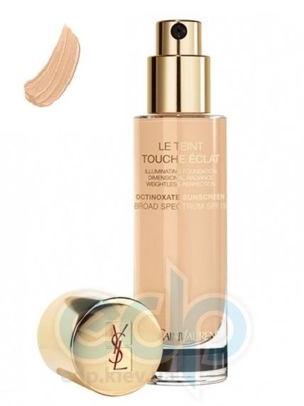 Крем тональный  увлажняющий придающий коже естественное сияние Yves Saint Laurent - Le Teint Touche Eclat Foundation SPF19 - B50 - 30ml