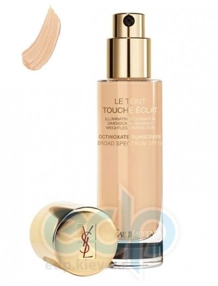 Крем тональный  увлажняющий придающий коже естественное сияние Yves Saint Laurent - Le Teint Touche Eclat Foundation SPF19 - B40 - 30ml