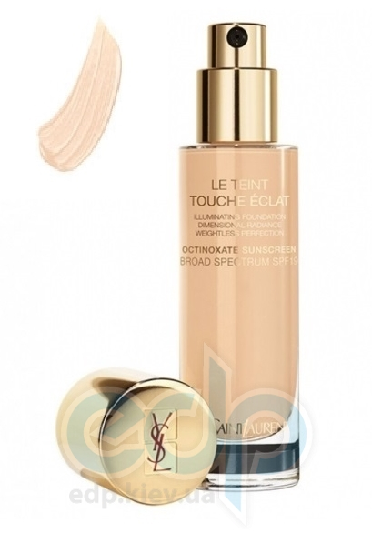 Крем тональный для лица увлажняющий, придающий коже естественное сияние Yves Saint Laurent - Le Teint Touche Eclat Foundation SPF19 BR20 - 30ml