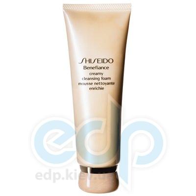 Пенка для лица очищающая кремообразная для нормальной и сухой кожи Shiseido - Benefiance Creamy Cleansing Foam - 125 ml