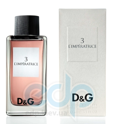 Dolce Gabbana Anthology LImperatrice 3 - туалетная вода -  mini 8 ml