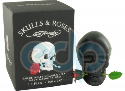 Christian Audigier Ed Hardy Skulls & Roses for Him - туалетная вода - 100 ml TESTER
