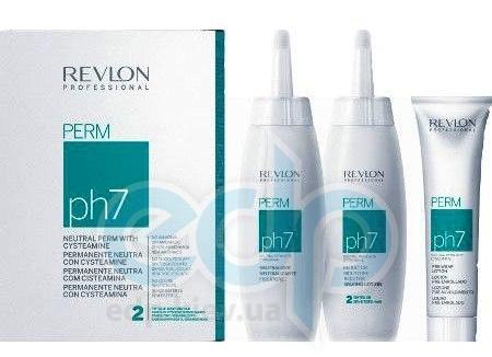 Revlon Professional Neutral Perm Ph7 Option 2 Tinted - Набор для химической завивки без аммиака для окрашеных волос