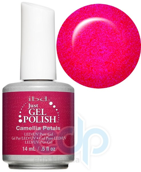 ibd - Just Gel Polish - Camellia Petals Светлое бордо, перламутр. № 589 - 14 ml