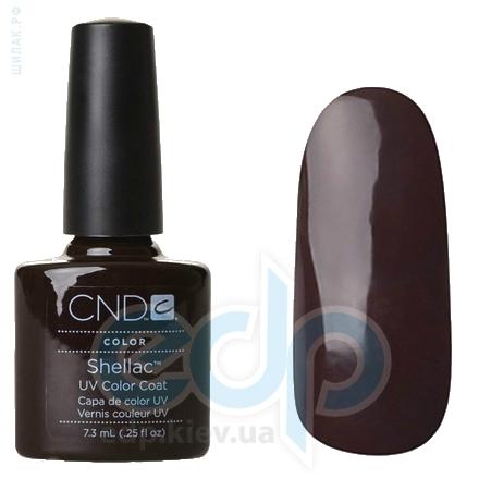 CND Shellac - Fedora Гель-лак тёмный шоколад, эмаль №510 - 7.3 ml