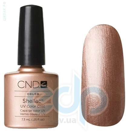 CND Shellac - Iced Cappuccino Гель-лак золотистый капучино, перламутр №503 - 7.3 ml