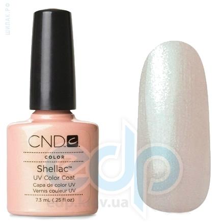 CND Shellac - Iced Coral Гель-лак бежево-персиковый цвет с изумрудным отливом №517 - 7.3 ml