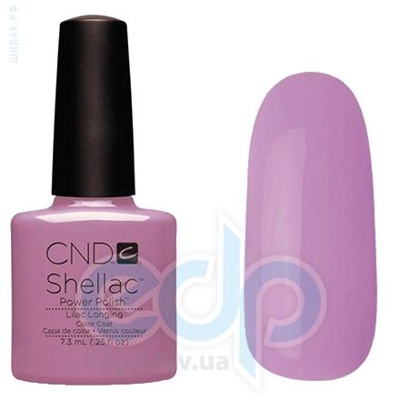 CND Shellac - Lilac Longing Гель-лак лиловый, эмаль №856 - 7.3 ml
