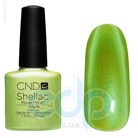 CND Shellac - Limeade Гель-лак салатовый с микроблеском №586 - 7.3 ml