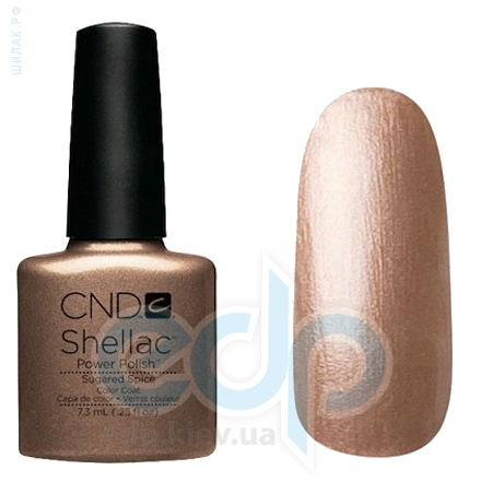 CND Shellac - Sugared Spice Гель-лак какао с перламутром - 7.3 ml
