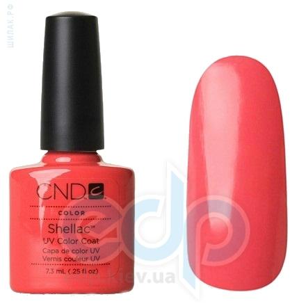 CND Shellac - Tropix Гель-лак ярко-коралловый, эмаль №505 - 7.3 ml