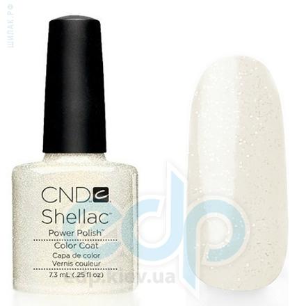 CND Shellac - Gold VIP Status Гель-лак прозрачный с мерцающим, светло-золотистым блеском №536