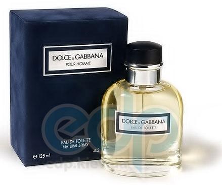 Dolce Gabbana pour homme -  Набор (туалетная вода 75 ml + бальзам после бритья 100 ml)