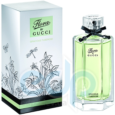 Flora by Gucci Gracious Tuberose - туалетная вода -  пробник (виалка) 2 ml