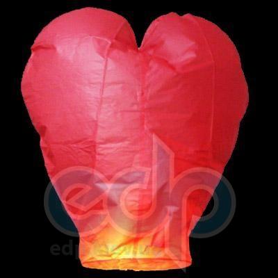 Небесный фонарик - Сердце - 10 шт + 1 шт в ПОДАРОК