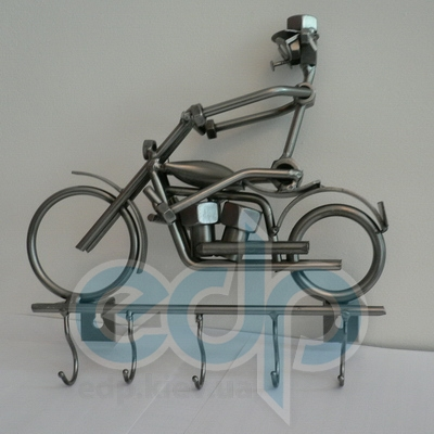 Hinz and Kunst (cтатуэтки) Статуэтки Hinz and Kunst (Германия) - Вешалка для ключей Harley - 26 x 24 см. (металл)