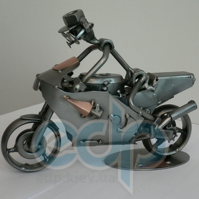 Hinz and Kunst (cтатуэтки) Статуэтки Hinz and Kunst (Германия) - Гоночный мотоцикл - 17 x 22 см. (металл)
