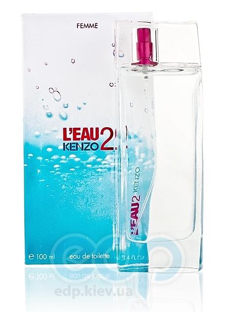 Leau 2 Kenzo pour femme - туалетная вода - 100 ml TESTER