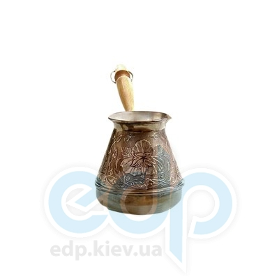 Станица (турки) Турка медная Станица - Цветок 400мл (364012)