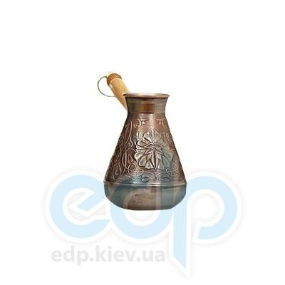Станица (турки) Турка медная Станица - Цветок 380мл (792013)