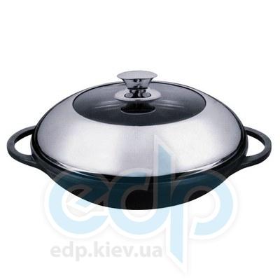 Granchio (посуда) Granchio -  Антипригарная сковорода (Вок) Granchio Marmo Induction - диаметр 24 см (арт. 88013)
