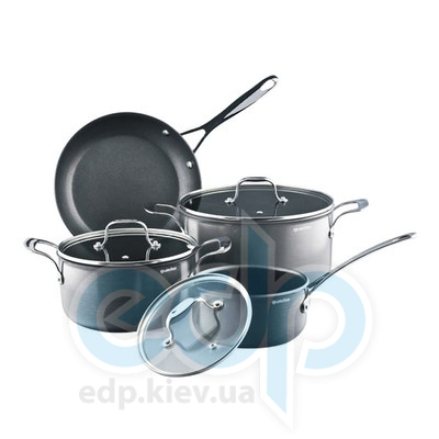 Granchio (посуда) Granchio -  Набор посуды Granchio Titanio - 7 предметов (арт. 88031)