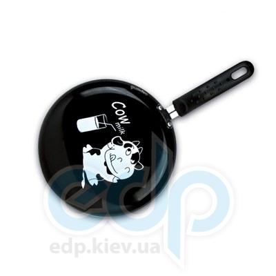 Granchio (посуда) Granchio -  Блинная скородка черная Granchio Cow milc Crepe Collection - диаметр 23 см (арт. 88271)