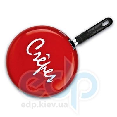 Granchio (посуда) Granchio -  Блинная сковорода красная Granchio Crepe - диаметр 26 см (арт. 88272)