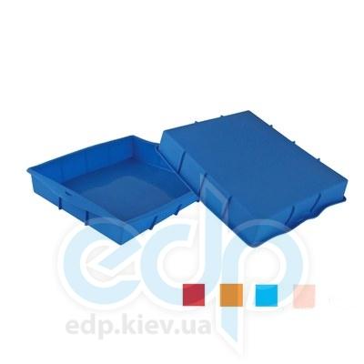 Granchio (посуда) Granchio -  Силиконовая форма для выпечки и запекания прямоугольная Granchio Silico Flex  - размер 32х25 см (арт. 88400)