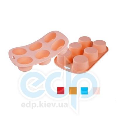 Granchio (посуда) Granchio -  Силиконовая форма для маффинов Granchio Silico Flex  - размер 28х13 см  (арт. 88405)