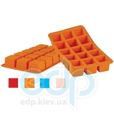 Granchio (посуда) Granchio -  Силиконовая форма для льда Granchio Silico Flex  - размер 20х11 см на 15 кубиков  (арт. 88412)