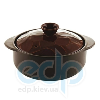Granchio (посуда) Granchio -  Кастрюля керамическая Granchio Lauro Green Fiamma - объем 2 л. Диаметр 20 см. (арт. 88501)