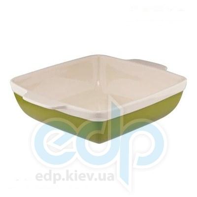 Granchio (посуда) Granchio -  Форма для выпечки и запекания прямоугольная Granchio Green Ceramica 37х27.6х8 см (арт. 88512)