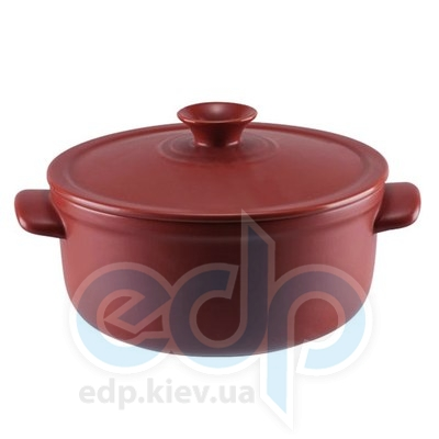 Granchio (посуда) Granchio -  Кастрюля керамическая Granchio Terra Green Fiamma - объем 4.5 л. Диаметр 26 см. (арт. 88532)