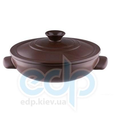 Granchio (посуда) Granchio -  Кастрюля керамическая Granchio Terra Green Fiamma - объем 3 л. Диаметр 28 см. (арт. 88533)