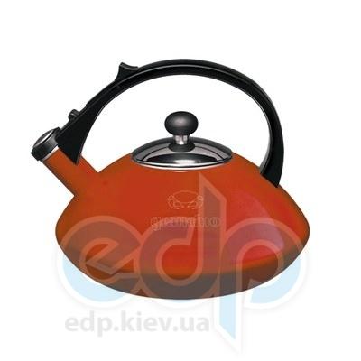Granchio (посуда) Granchio -  Чайник Granchio Cosmico Rosso - объем 2.5 л (арт. 88601)