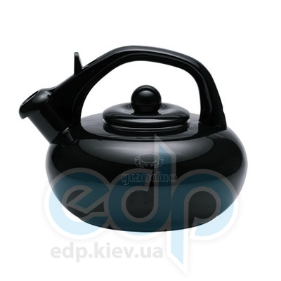 Granchio (посуда) Granchio -  Чайник Granchio Stera  черный - объем 2.5 л (арт. 88612)