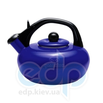Granchio (посуда) Granchio -  Чайник Granchio Sfera синий - объем 2.5 л (арт. 88613)