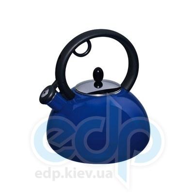 Granchio (посуда) Granchio -  Чайник Granchio Capriccio синий - объем 2.5 л (арт. 88616)