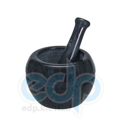 Granchio (посуда) Granchio -  Ступка мраморная с пестиком Granchio Pesto, диаметр 12см, высота 9 см(арт. 88713)